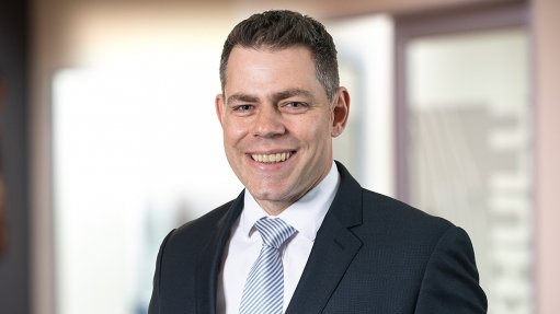 An image of Pan African Resources CEO Cobus Loots