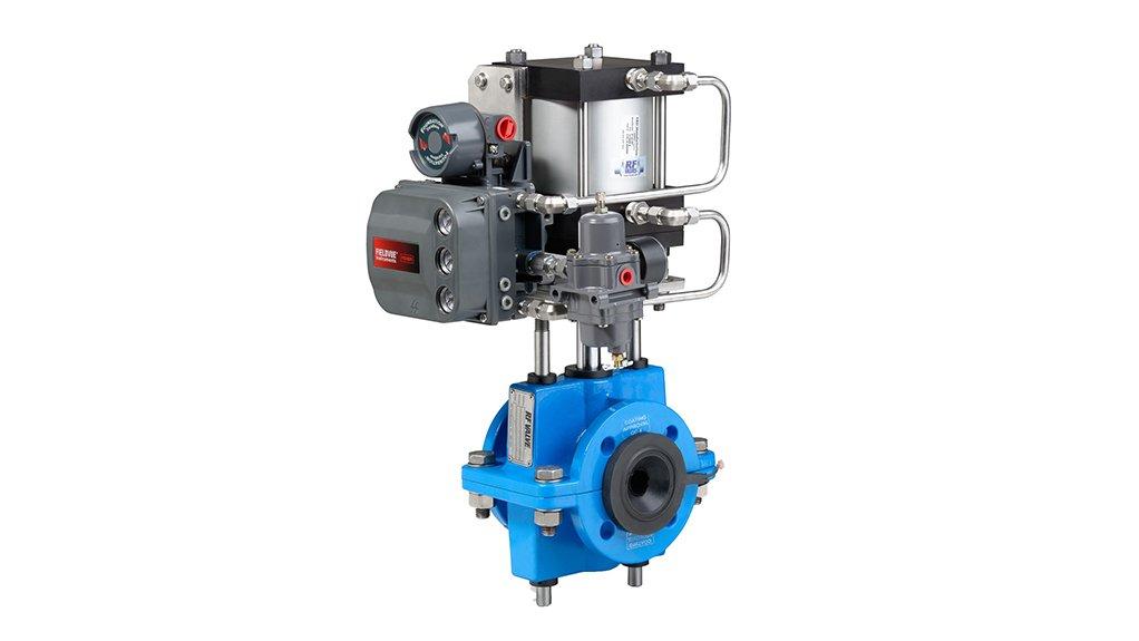 Dynamic Fluid Controls RF control valve.