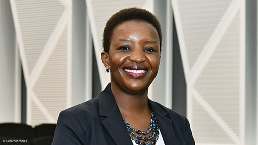 An image of Busi Mavuso, the CEO of Business Leadership South Africa