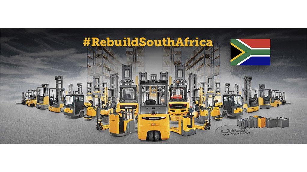 #RebuildSouthAfrica