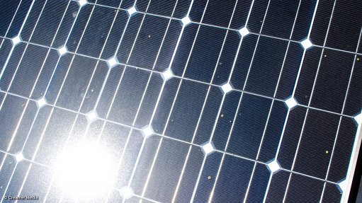 Image of a solar panel