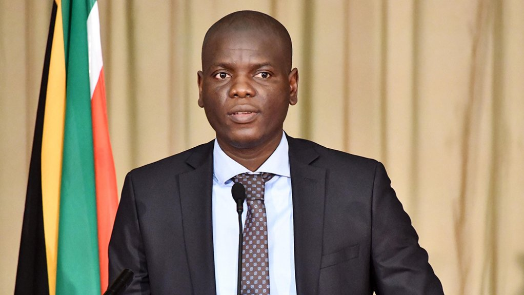 Minister of Justice and Constitutional Development Ronald Lamola