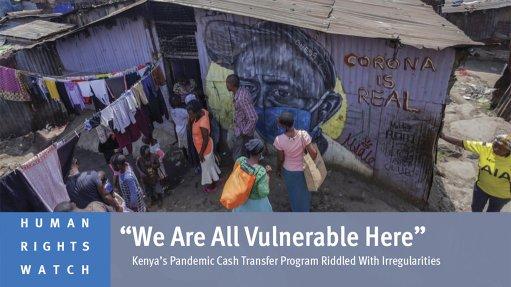 Kenya's Pandemic Cash Transfer Program Riddled With Irregularities