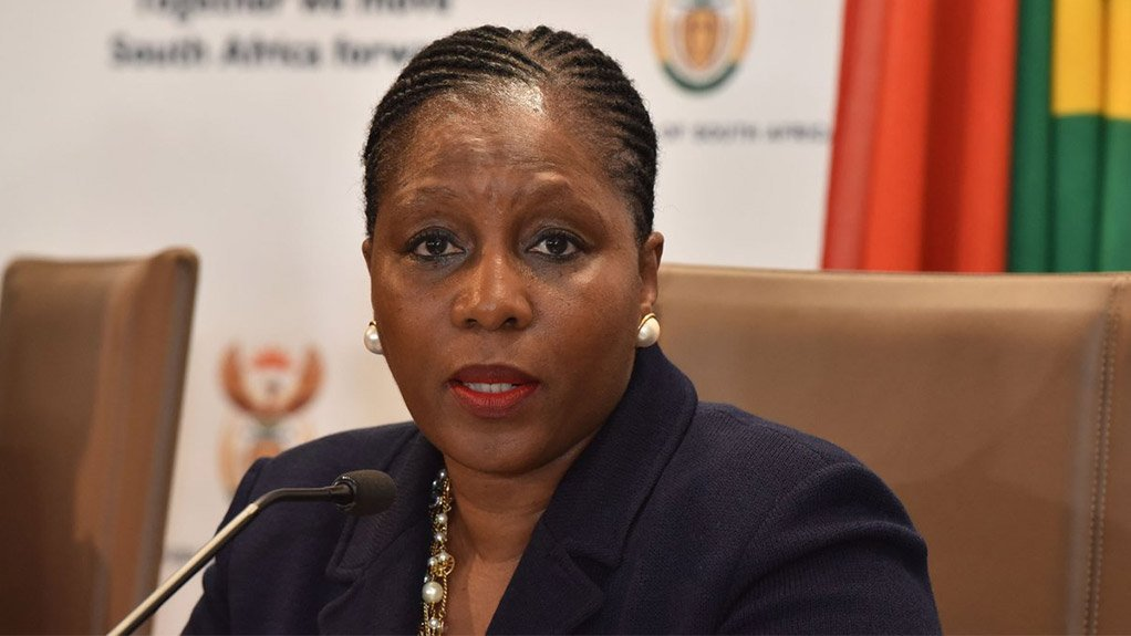 South African State Security Minister Ayanda Dlodlo
