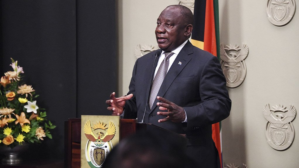 Image of South Africa's President Cyril Ramaphosa