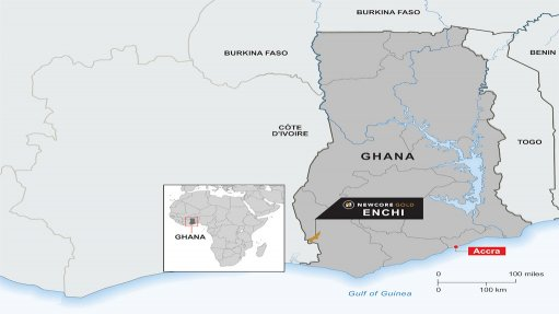 Enchi gold project, Ghana