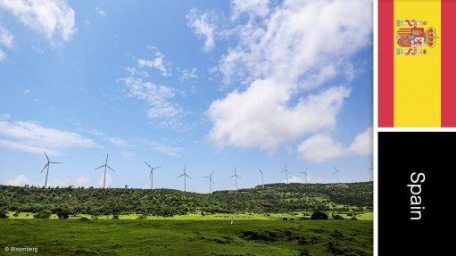 Villarino wind farm and photovoltaic plant, Spain