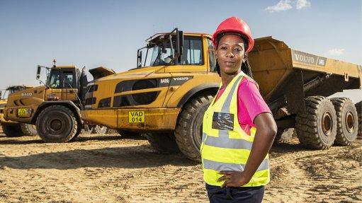An image of Phalanndwa Colliery ADT operator Nonhlanhla Maseko