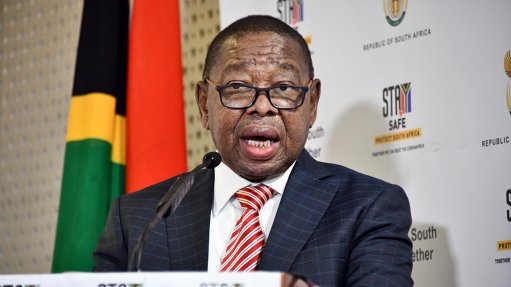 Picture of Minister of Higher Education, Science and Innovation Dr Blade Nzimande