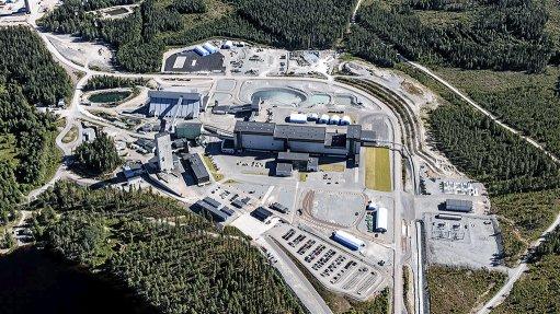 Garpenberg mine, Sweden