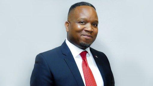 An image of new IMSAf senior VP Komane Pitso