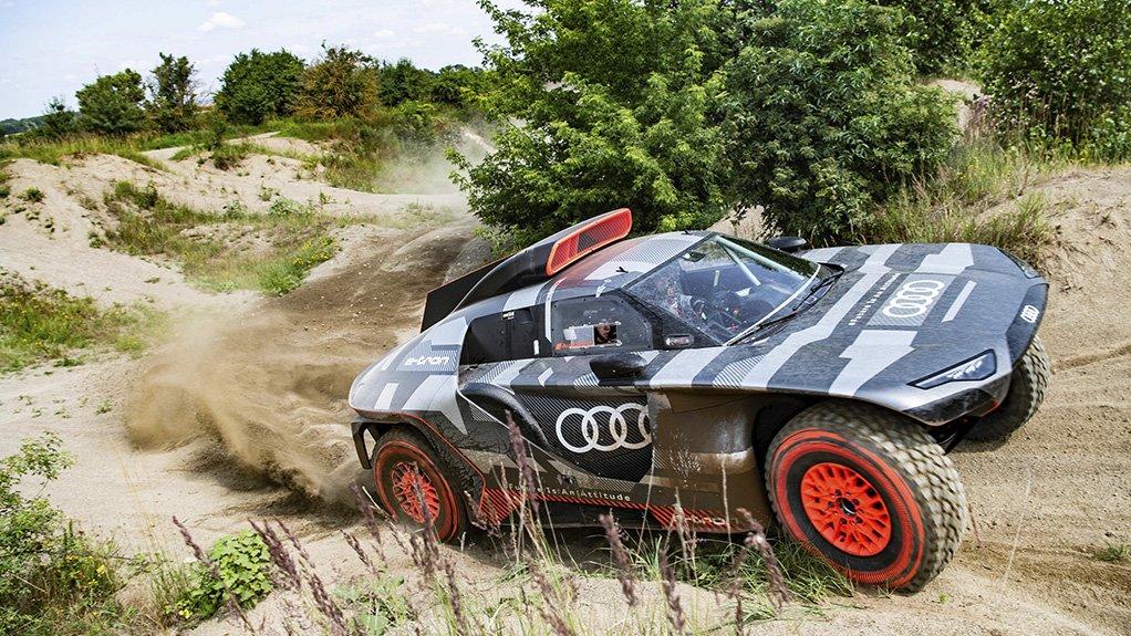 Image of the Audi RS Q e-tron