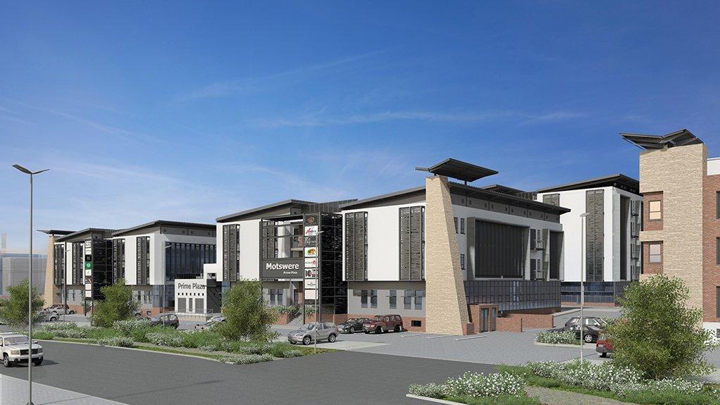 Botswana-based PrimeTime's Motswere building