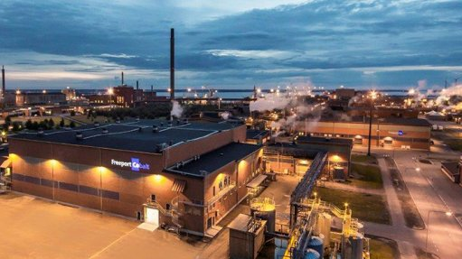 An image showing a refinery in Finland.