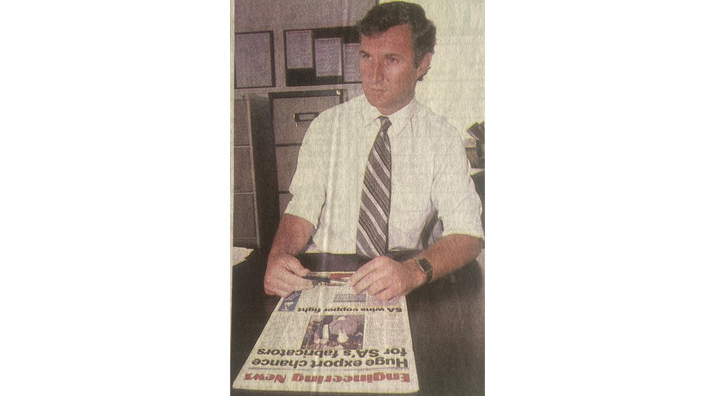 Image of Martin Creamer  Founded business in 1981