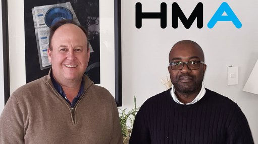 Image of George Hoffmann HMA Country Manager and Sikhosipi Shabane HMA WS Product Manager