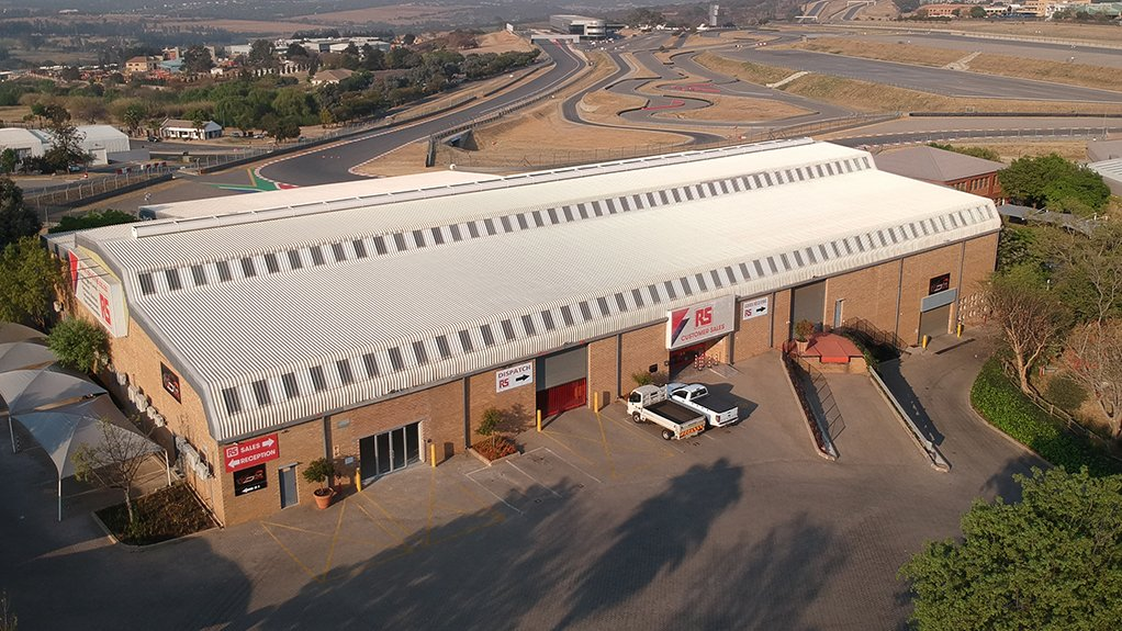 Image of the View of the RS South Africa Offices (Kyalami Race track in the background)
