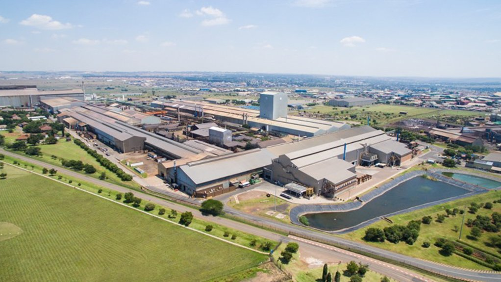 Image of Columbus Stainless Aerial View – Middelburg, South Africa