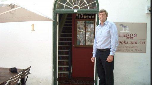 Image of ADRIAAN SCHEERES  On a visit to the first Pragma office at 1 Adringa street, Stellenbosch