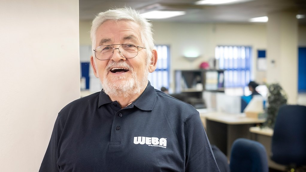 Image of WERNER BALLER  Founder and chairperson of Weba Chute Systems & Solutions