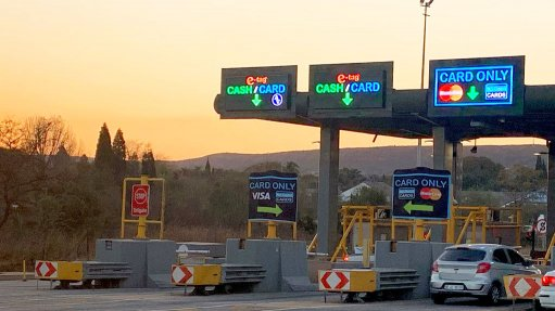 An image showing the new tap and go technology for selected plazas along the N1/N4 toll route