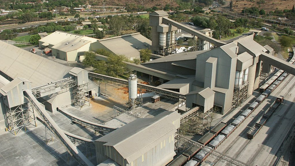 Photo of a PPC plant
