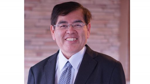 An image of former head of Toyota's hydrogen and fuel cell strategy  Professor Katsuhiko Hirose