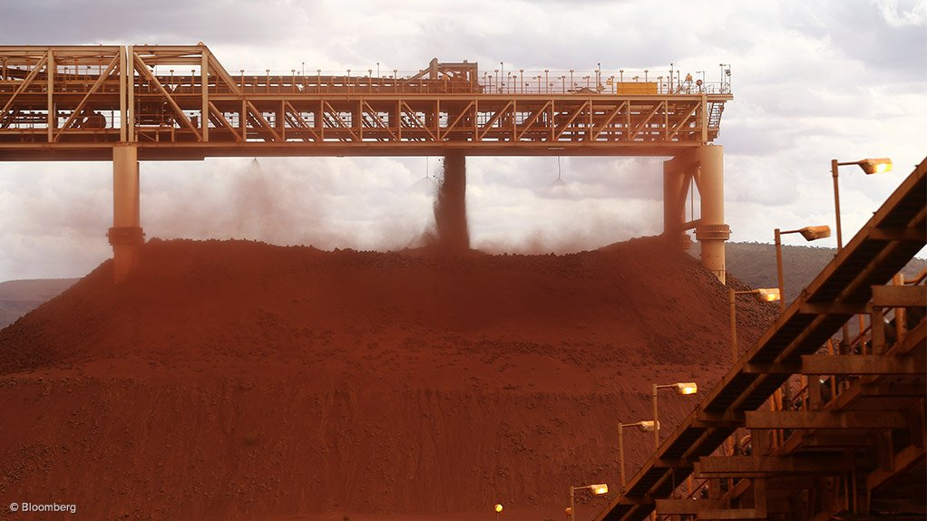 Image shows Fortescue's iron-ore operations in the Pilbara