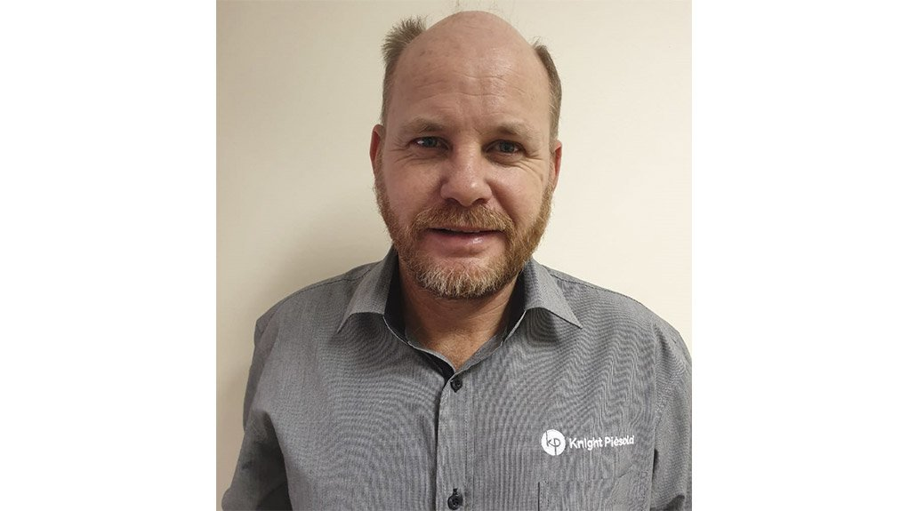 Image of regional manager in Phalaborwa for Knight Piésold Le Roux Loubser