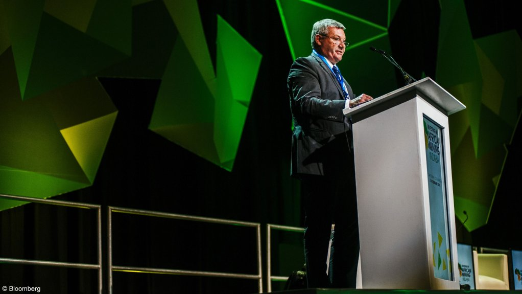 Kinross CEO Paul Rollinson