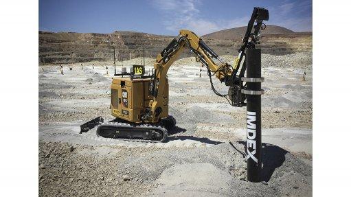 IMDEX Blast Dog Solution on a mine site