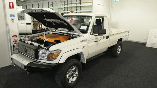 Photo of Vivopower's electric Land Cruiser