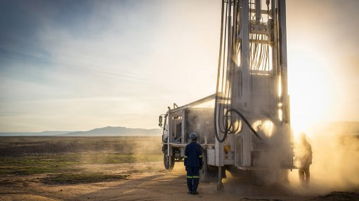 An images of a connected mining operation vehicle