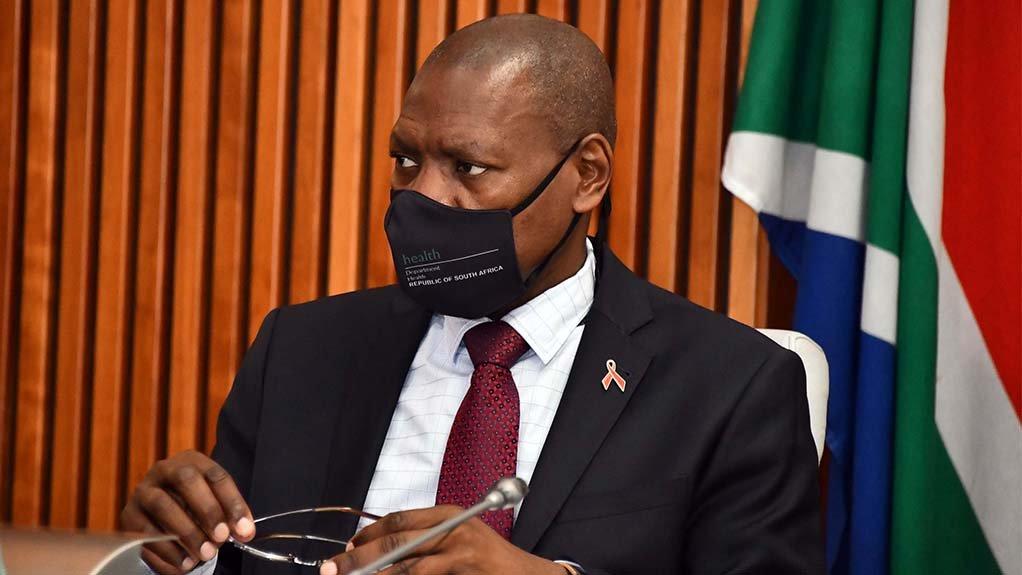 Image of Health minister Zweli Mkhize