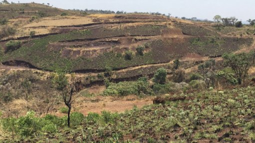 An image of Ngualle Hill location of the Ngualla Rare-earth project