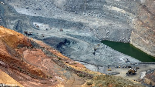 A generic image of an openpit mining operation.