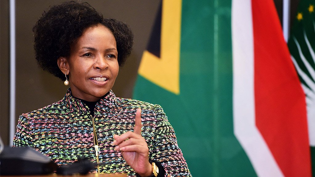 South African Women, Youth and Persons with Disabilities Minister Maite Nkoana-Mashabane