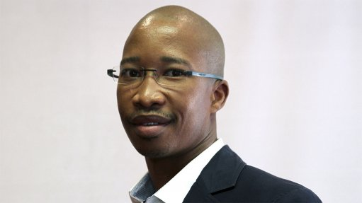 An image of Keitumetse Moumakoe the CEO of the Steel, Tube and Pipe Association of South Africa