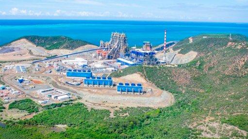 Glencore's Koniambo operation, in New Caledonia