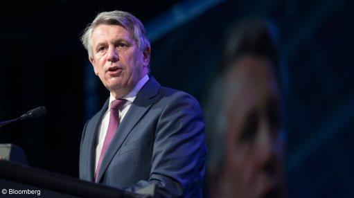 An image of Shell CEO Ben van Beurden