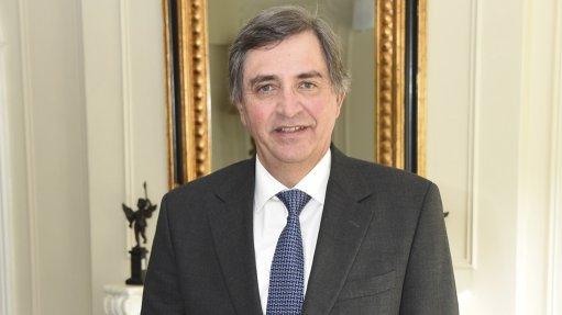 A photo of former TSAM chairperson Dr Johan van Zyl