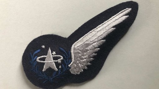 An image of a UK Space Command Space Operator's badge