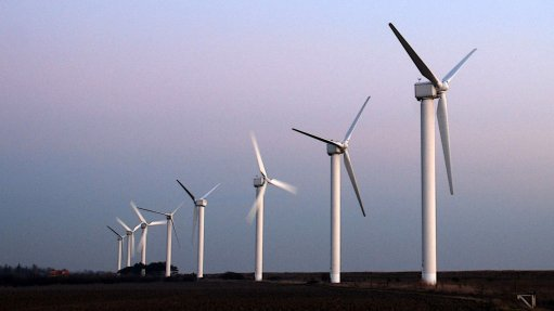An image of wind turbines.