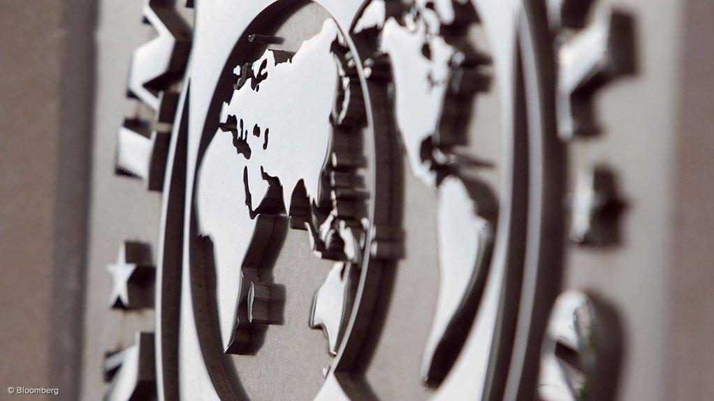 An image of the International Monetary Fund's logo