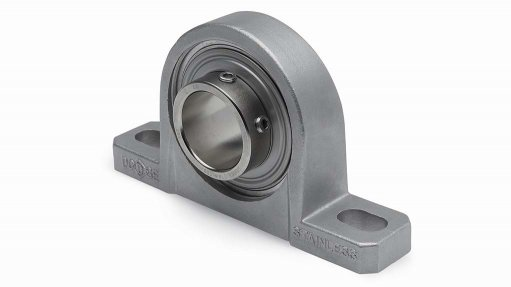 A food safe bearing on a white background