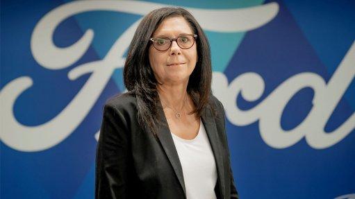 A photo of Yota Baron, Ford SA CFO