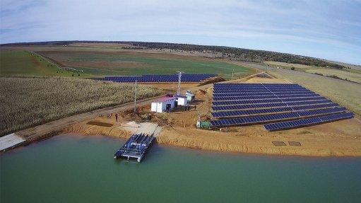 BMG drives for solar pumps on a farm