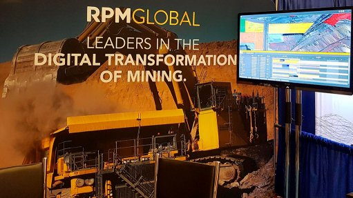 A photo of RPMGlobals' software being demonstrated