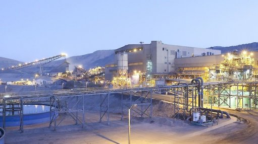 An image of Lundin Mining's Candelaria processing plant in Chile.