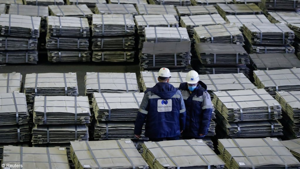 Nornickel triples earnings as metals prices offset output dip